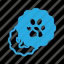 animal, badge, pet, pets, sticker icon