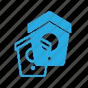 animal, bird, house, pet, pets icon