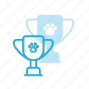 animal, award, cup, pet, pets, reward icon