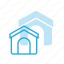 animal, dog, house, pet, pets icon