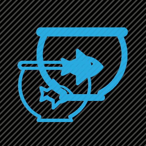 animal, aquarium, fish, pet, pets, tank icon