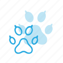 animal, cat, dog, paw, paws, pet, pets icon