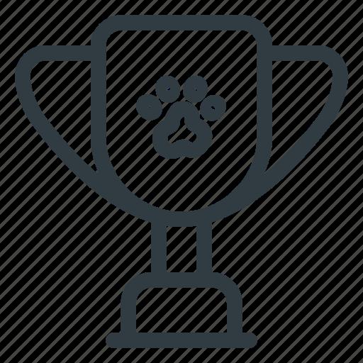 animal, award, cup, pet, pets, reward icon