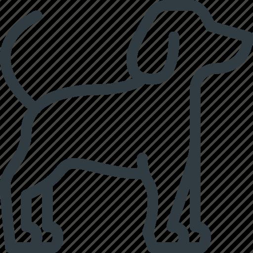 Pet, company, dog, animal, pets icon