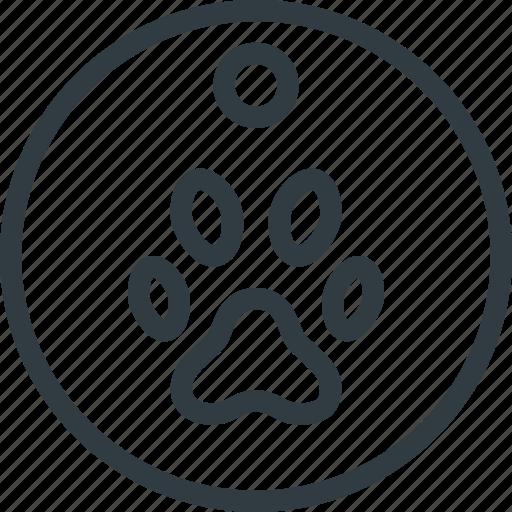 animal, dog, medal, pet, pets, tag icon