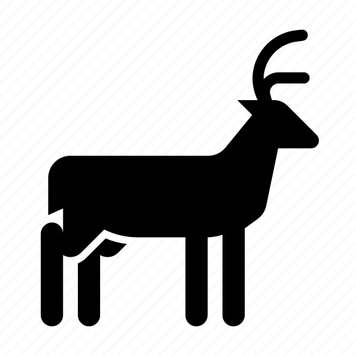 animal, buck, nature, wild icon