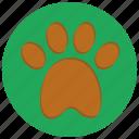 animal, cat, dog, paw, paw print, pet, pets icon
