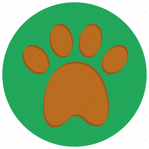 animal, cat, dog, paw, paw print, pet, pets icon
