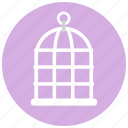 animal, bird, bird cage, cage, pet, pets icon