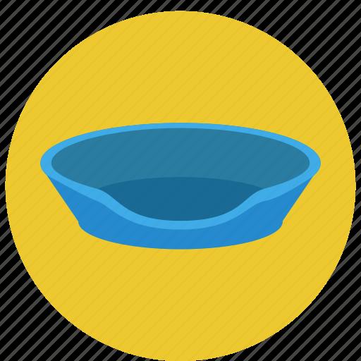 bowl, cat, litter box, litter pan, pet, pets, sandbox icon