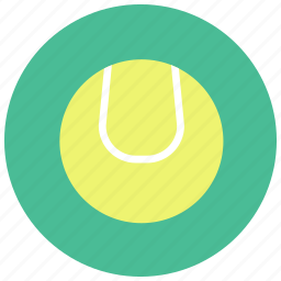 ball, dog, dog toy, pets, play, tennis ball, toy icon