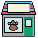 care, color, health, hospital, pet, shop, store icon
