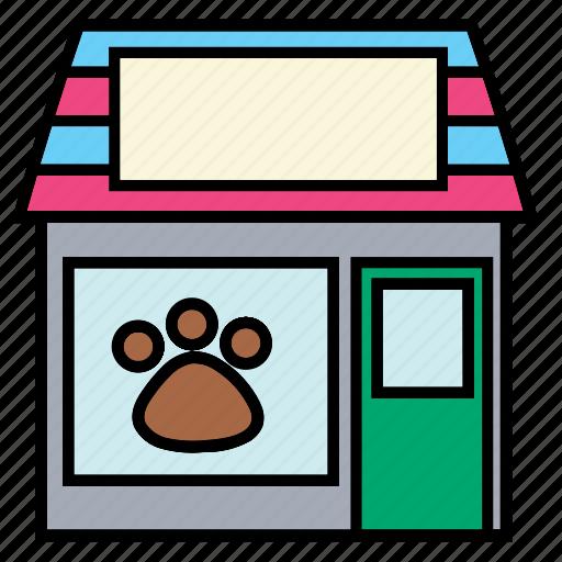 care, color, health, hospital, pet, shop, store icon
