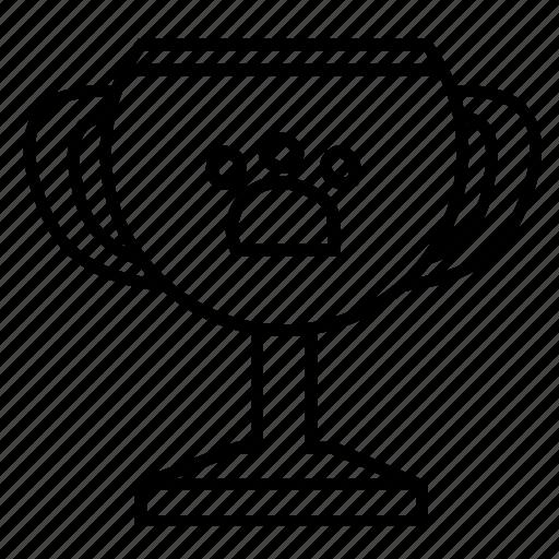 award, gold, number1, pet, prize, winning icon