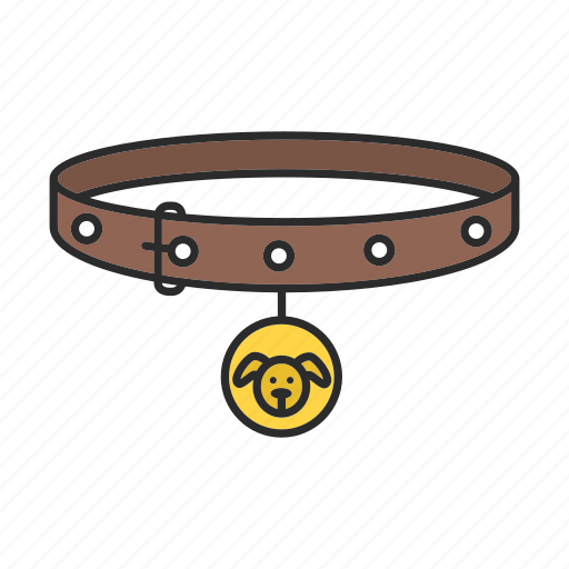 accessory, animal, collar, dog, dog-collar, pet icon