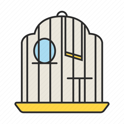 Bird, birdcage, cage, house, parrot, pet, place icon - Download on Iconfinder