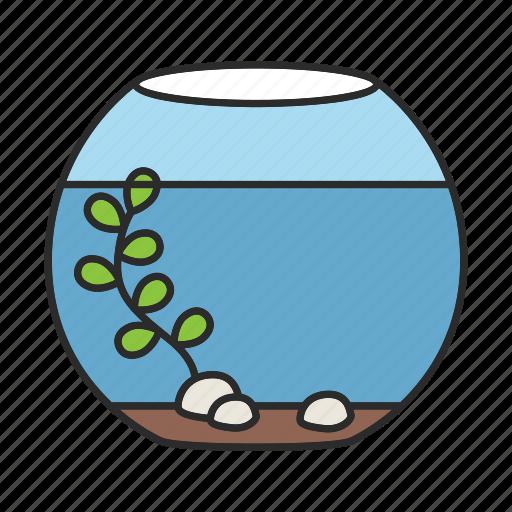 aquarium, fish, fishbowl, fishkeeping, goldfish, pet, tank icon