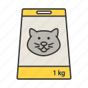 cat, feed, food, meal, nutrition, pack, pet icon