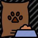 animal, dog, food, pet, petshop icon
