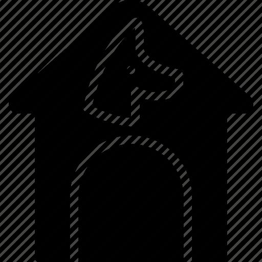 animal, dog, house, pet, petshop icon