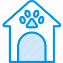 animal, dog, house, pet, petshop icon