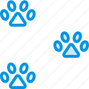 animal, marks, paw, pet, petshop icon