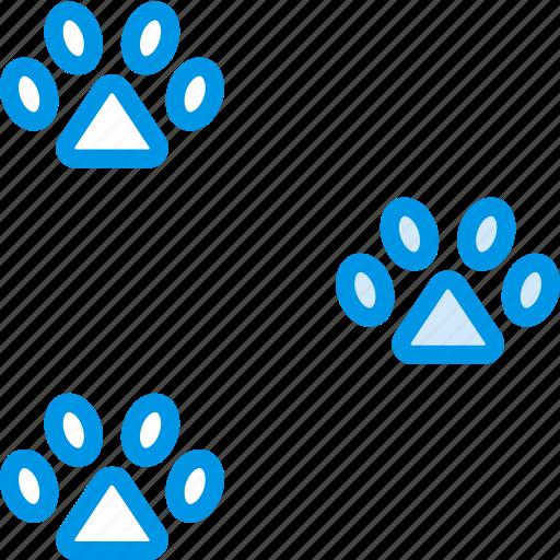 Animal, marks, paw, pet, petshop icon - Download on Iconfinder