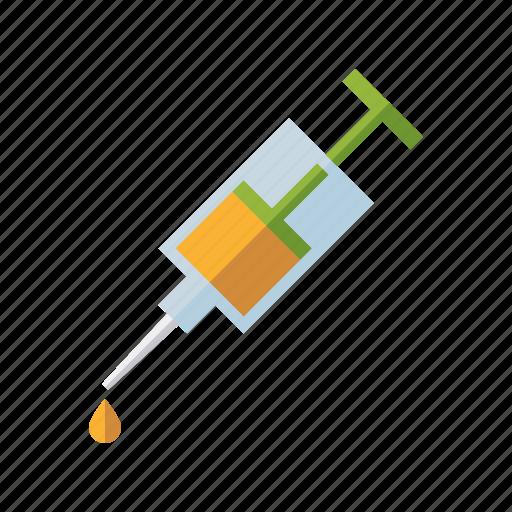 health care, medicine, pharmaceutics, syringe, vaccination, vaccine icon