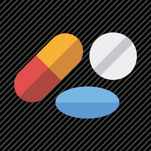 capsule, health care, medical, medicine, pharmaceutics, pill, tablet icon