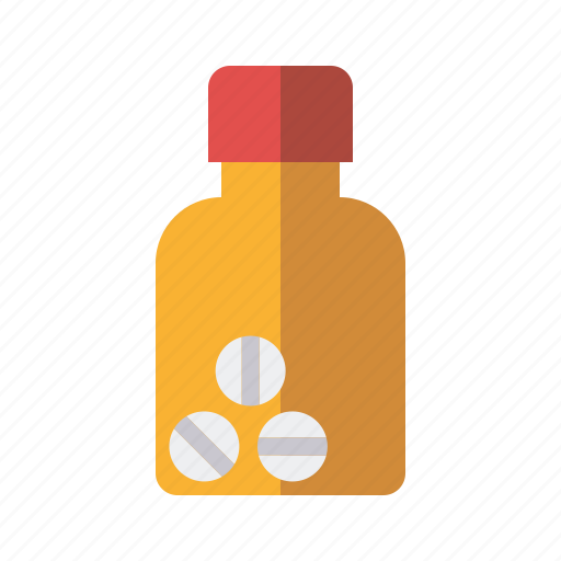 botle, health care, medical, medicine, pharmaceutics, pills, prescription icon
