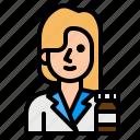 hospital, medicine, pharmacist, pharmacy, woman