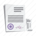 document, drug, form, medicine, pharmacy, prescription, recipe icon