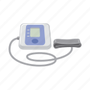 apparatus, blood pressure, equipment, measurement, medical device, pulsimeter, tonometer icon