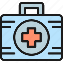 aid, chest, first, kit, medication, medicine, pharmacy