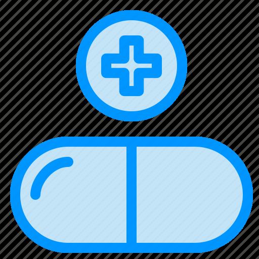 drug, medical, pills, sign icon