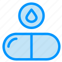 drop, drug, pills, tablet icon