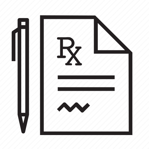 healthcare, medical, medicine, pharmacy, prescription, rx, wellness icon