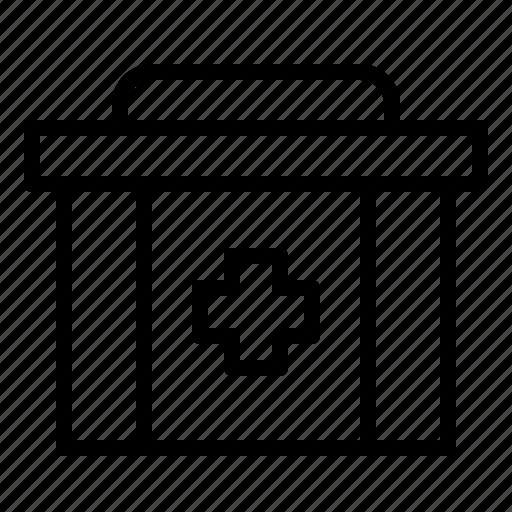 Box, health, hospital, medical, medicine, pharmacy icon - Download on Iconfinder