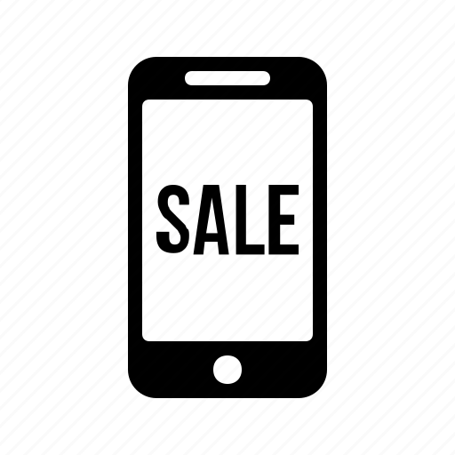 discount, interest, mobile, offer, phone, sale icon