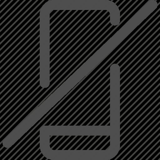 conversaiton, decline, interface, mobile, offline, telephone icon