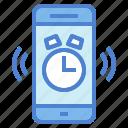 alarm, clock, smartphone, time, timer