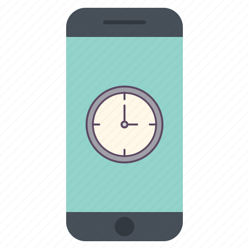 alarm, alert, application, clock, time, timer, watch icon