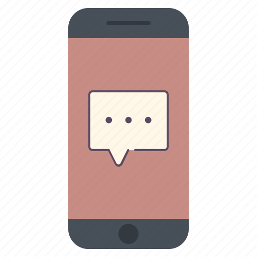 application, bubble, chat, mail, messages, phone, telephone icon
