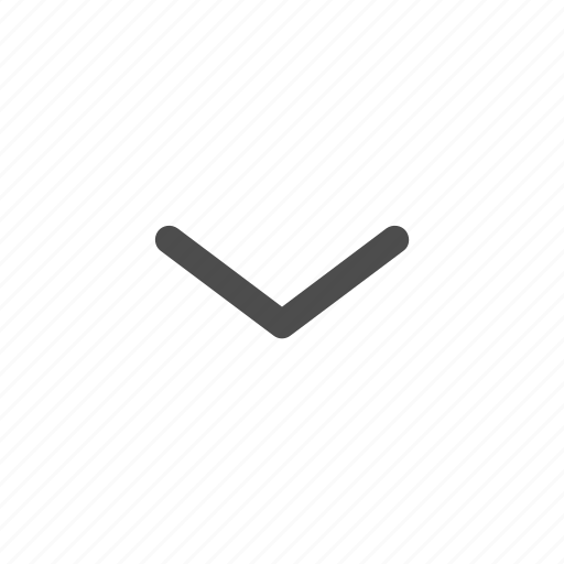 arrow, direction, down, download, drop down icon