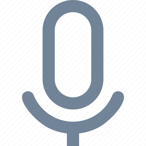 interview, line, logs, microphone, phone, podcast, radio, speaker, voice icon