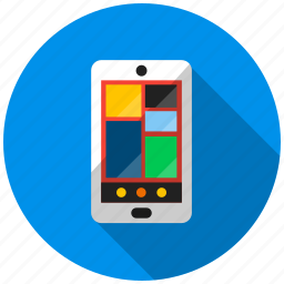 application, mobile, repair, smartphone, telephone, threat, update icon