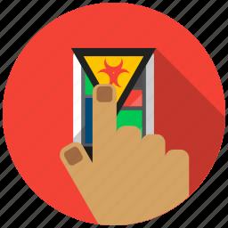 application, mobile, smartphone, telephone, thief, threat, virus icon