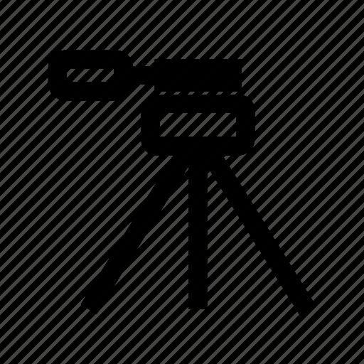 easel, equipment, macro, photo, professional, stand, tripod icon