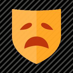 drama, mask, masks, theater icon