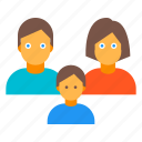 child, family, genre, people icon